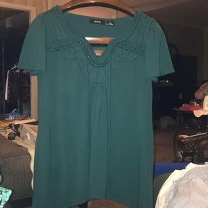 Gorgeous boutique beaded tunic top